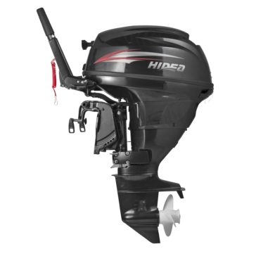 HIDEA 25 HP Outboard Engine, Short Shaft with Electric Starter