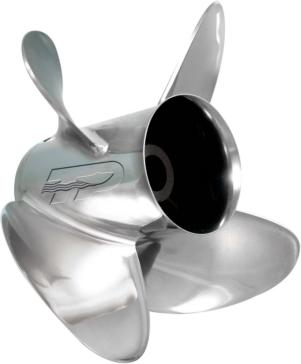 3 - Right - Evinrude, Johnson, Honda, Suzuki, Mercury, Volvo, Nissan, Tohatsu, Yamaha TURNING POINT Express Propeller