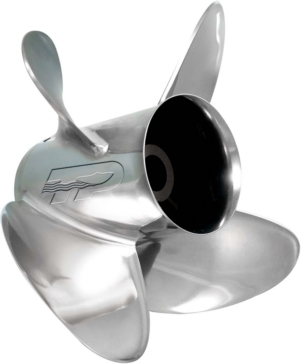 Turning Point Express Propeller Fits Johnson/Evinrude, Fits Honda, Fits Suzuki, Fits Mercury, Fits Volvo, Fits Nissan, Fits Tohatsu, Fits Yamaha - Stainless steel