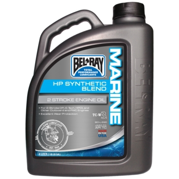 4 L BEL-RAY 2T HP Synthetic Engine Oil