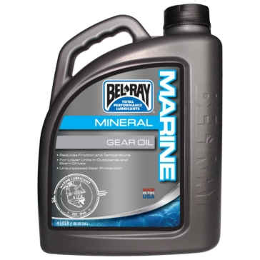 4 L BEL-RAY Mineral Gear Oil
