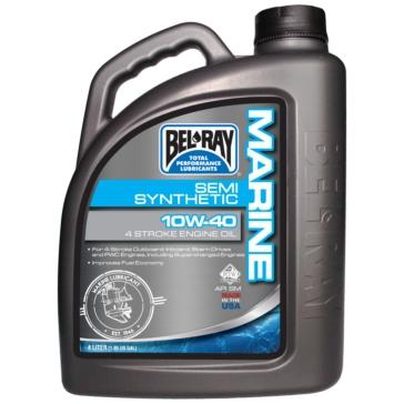 4 L BEL-RAY 4-Stroke Semi-Synthetic Motor Oil