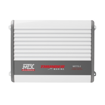 Amplificateur 2 canaux de Série WET 75 MTX AUDIO