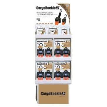 BOATBUCKLE CargoBuckle Tie-Down POP Display Variable