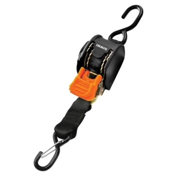 BOATBUCKLE Mini G3 Retractable Ratchet Tie-Down 6'