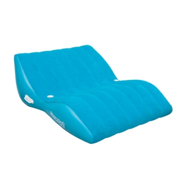 SUN COMFORT AIRHEAD Cool Suede Zero Gravity Lounges Tube