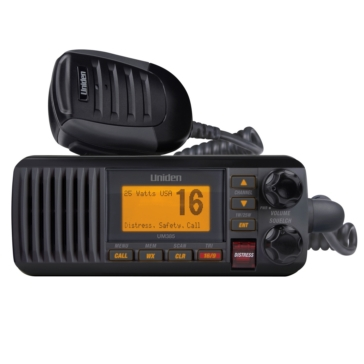 Uniden UM385 Fixed Marine Radio Black