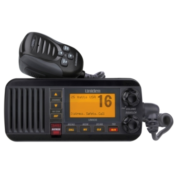 Uniden UM435 Fixed Marine Radio Black