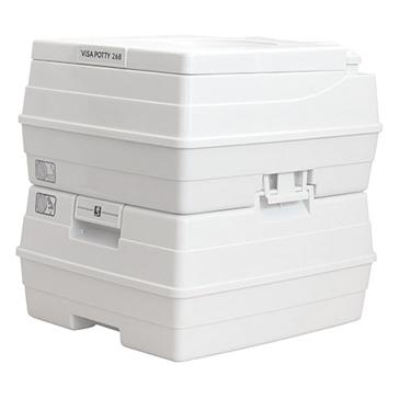 Dock Edge  Visa Potty Toilet with storage compartment