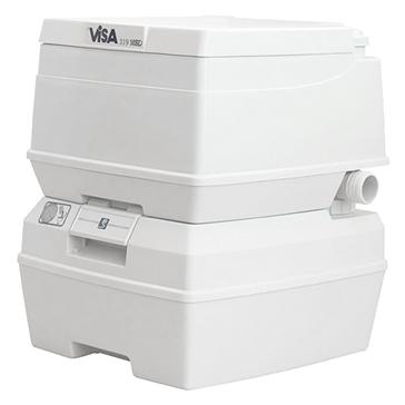 Dock Edge  Visa Marine Potty MSD Toilet