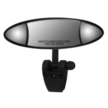 "CIPA Mirror 4""x11"", Oval Clip-on"