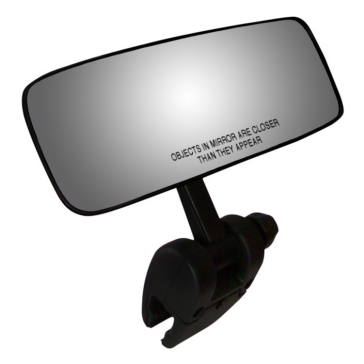 "CIPA Mirror 4""x11"", Rectangle Clip-on"