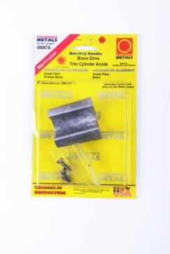 Mercury PERFORMANCE METAL Bravo Trim Cylinder Anode