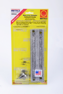 Mercury PERFORMANCE METAL Outboard Power Trim Anode