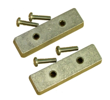 PERFORMANCE METAL Bennett Trim Tab Anode (2 pairs)
