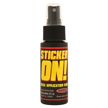 Spray HARDLINE PRODUCTS Sticker-On! Care Product