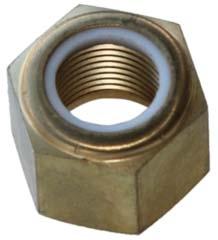 Solas Fixed Pressed in Propeller Nut Mercury