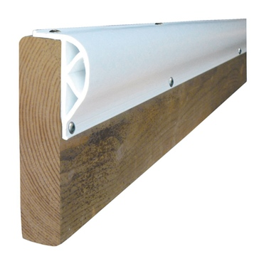 "8' x 3 1/8"" x 1"" DOCK EDGE  Double ""D"" Dock Bumper"