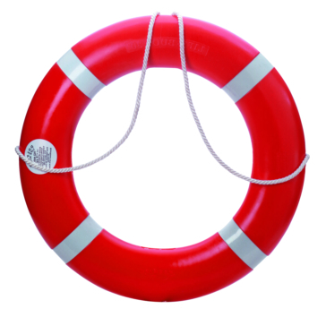 Dock Edge  Dolphin Life Ring Buoy 30""