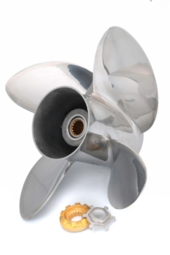 4 - Right - Mercury, Mercruiser, Honda SOLAS HR titan 4 Propeller