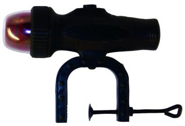 Feux de navigation à pince KIMPEX Feu avant bicolore - Non - Noir