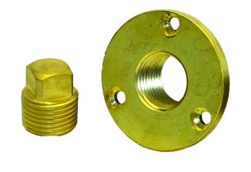 KIMPEX Garboard Drain Plug - Brass