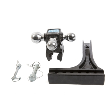 PROSERIES Tri-Ball Ball Mount, Drawbar 14000 lbs