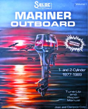 Manuel hors-bord Mariner vol.1 - 1977-1989 SELOC 015-2