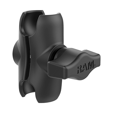 RAM MOUNT Short Double Socket Arm