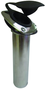 Support de canne à pêche encastré 30 degrés en acier inoxydable 360 BOATER SPORTS