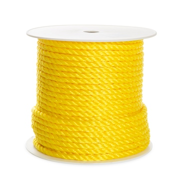 "Kimpex Boat Rope 250' - 3/8"" - Polypropylene - 3-Strand Twisted"