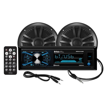 Boss Audio Ensemble audio MCBK634B.6 Marine - 2 - 200 W
