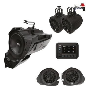Boss Audio Haut-parleurs et caisson de basses BPRZR5 Marine, VTT
