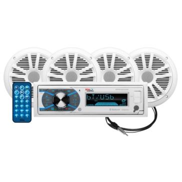 Boss Audio Audio Receiver Kit MCK632WB.64 Marine - 4 - 180 W