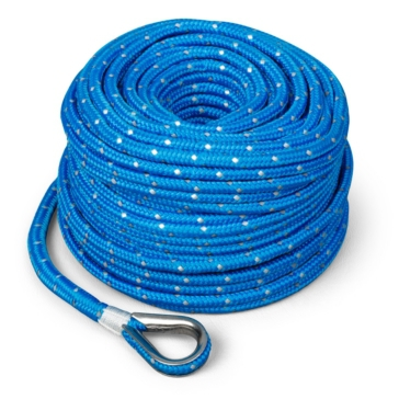 TRAC OUTDOOR Anchor Rope with Shackle 100' - 700 lbs