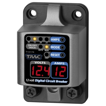 10 to 25A TRAC OUTDOOR 10-25 Amp Digital Circuit Breaker