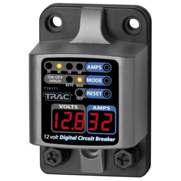 30 to 60A TRAC OUTDOOR 30-60 Amp Digital Circuit Breaker