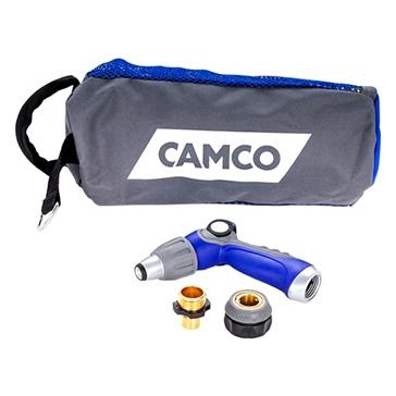 Camco 20' Coil Hose Kit & Spray Nozzle Kit