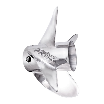 Solas Rubex Pro L4 Interchangeable Hub Propeller Stainless steel