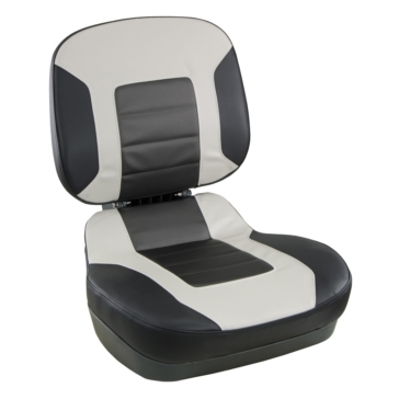 SPRINGFIELD Low Back Fish Pro II Seat Low-back fold-down seat