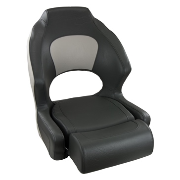 SPRINGFIELD Deluxe Sport Bucket Chair with Bolster Flips-up High-back seat