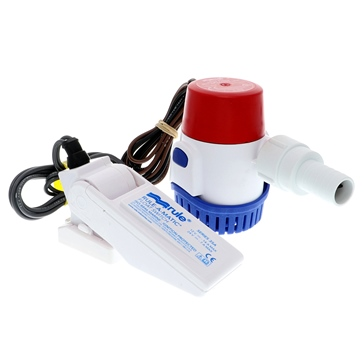 JABSCO RULE 500 GPH Standard Bilge Pump Kit with Float Switch