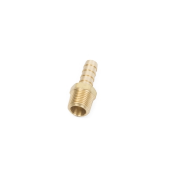 Brass MALLORY Fuel Line Hose Barb, 9-38022