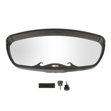 Clamp-On CIPA Windshield Top Quick Mount Mirror