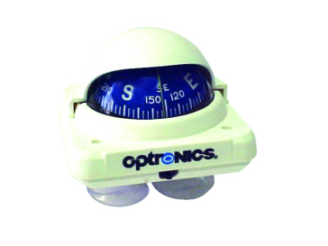 OPTRONICS Compact, Low Profile Marine Compass