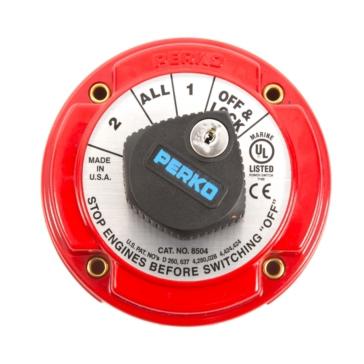 Interrupteur de sélecteurs de batterie PERKO