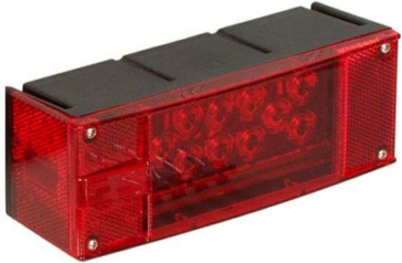 Optronics Low Profile Passenger Side Tail Light Red