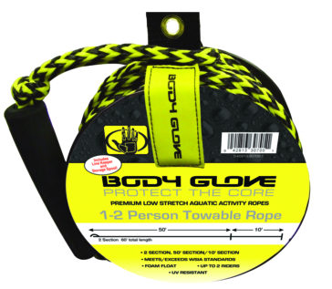 Tube rope with spool BODY GLOVE Tube Rope with Spool, 2 person