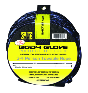 Tube rope with spool BODY GLOVE Tube Rope with Spool, 4 person