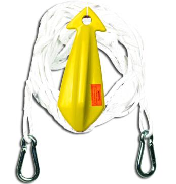 HYDROSLIDE Harnais de corde de 12' avec poulie